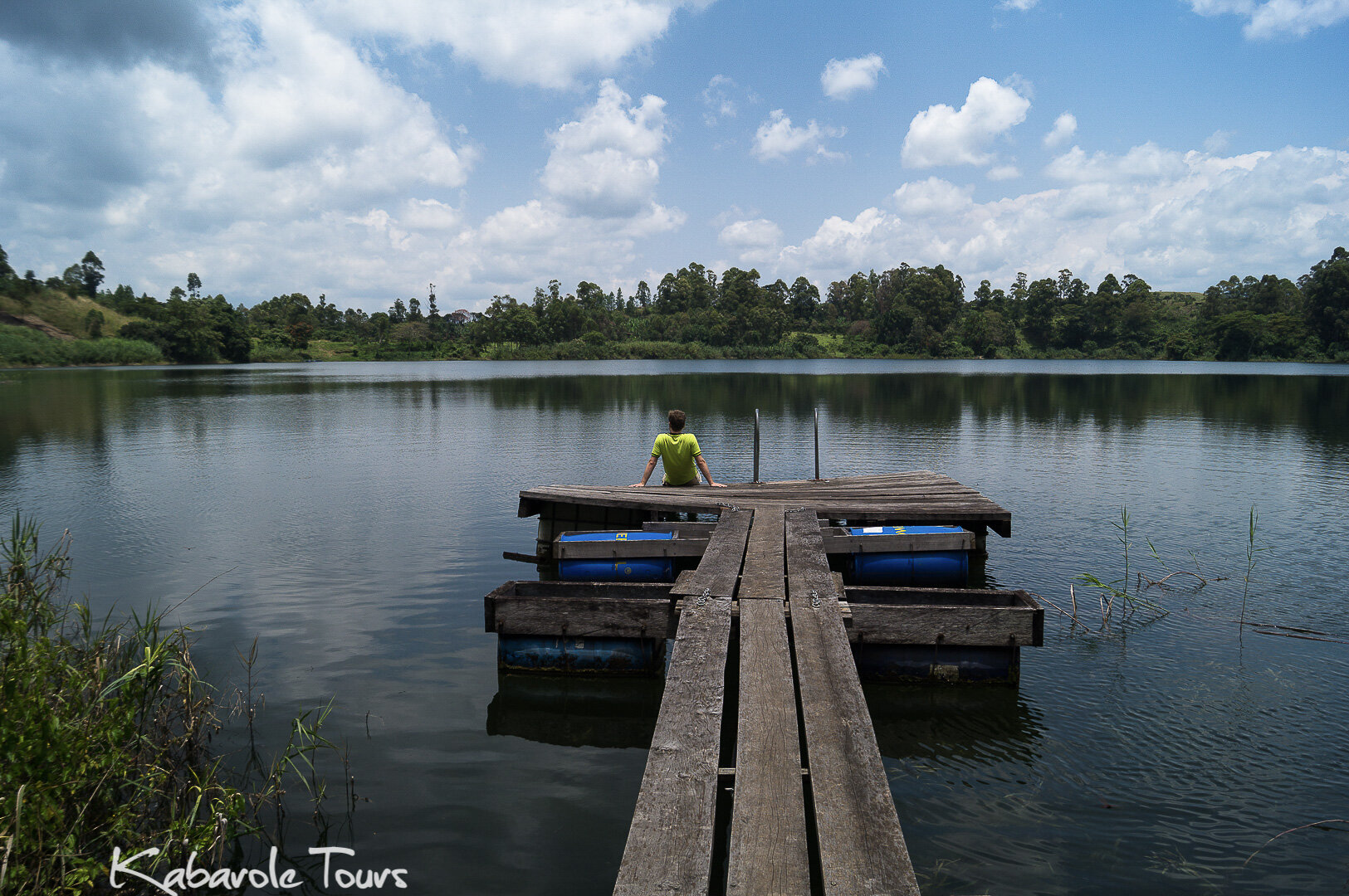 Crater lakes around Fort Portal