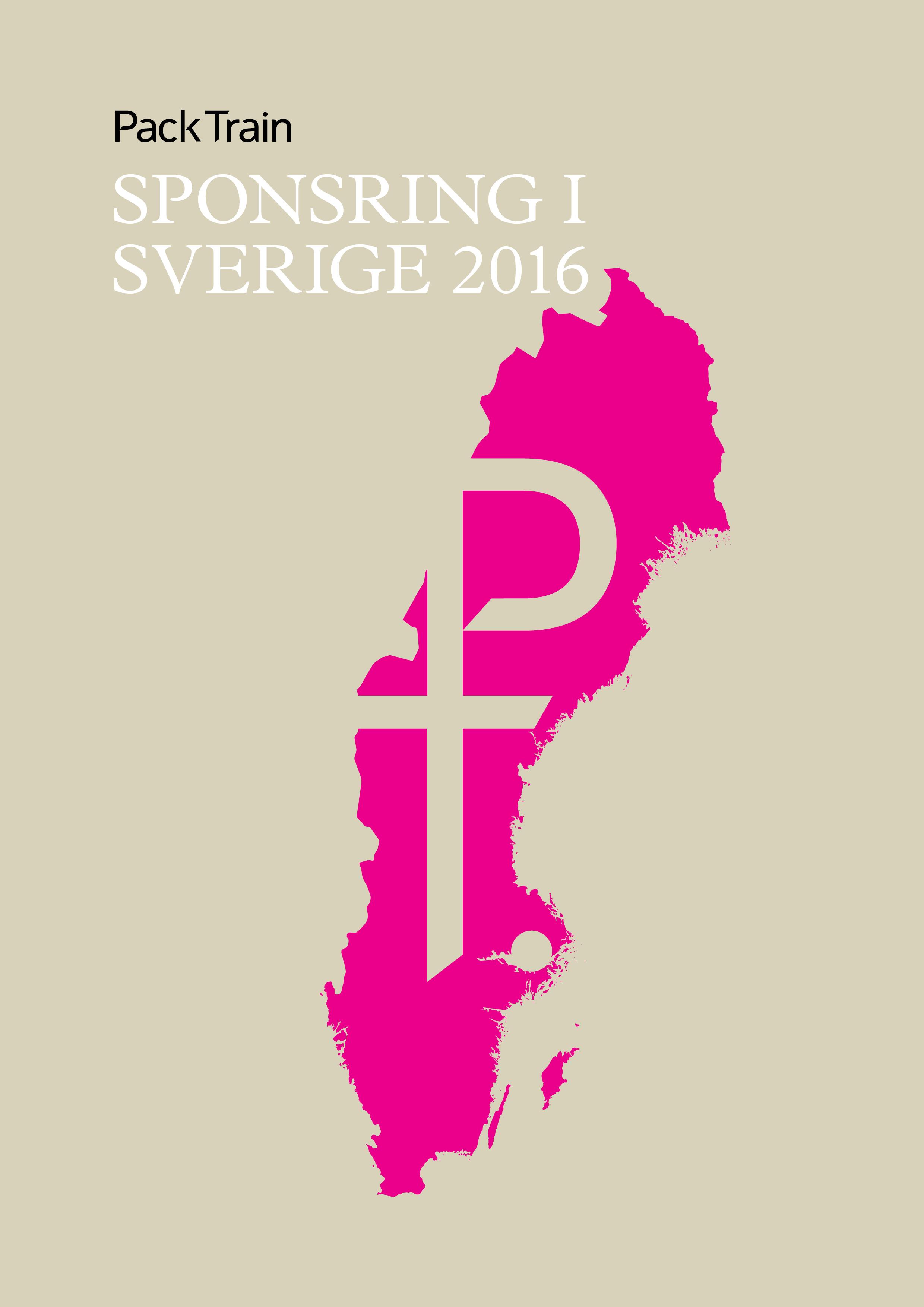 Sponsring i Sverige Pack Train