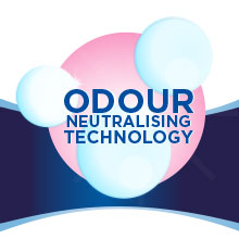 Odour Neutralising Technology   Neutralises odour and doesn't just mask it for a fresher feel in the morning.
