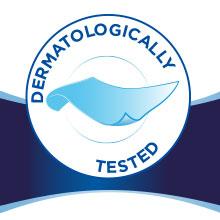 Dermatologically tested   Dermatologically tested.