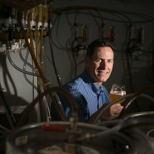 Don Borelli, co-owner of the Arts & Crafts Beer Parlor. Photo; Julie Brown Photograpghy.