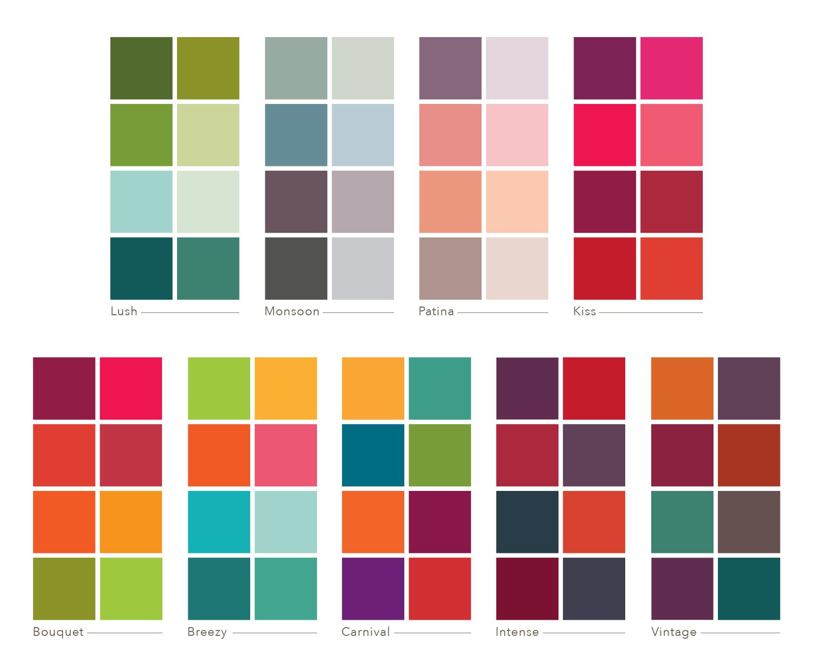 studio milledisegni Custom Color Palettes