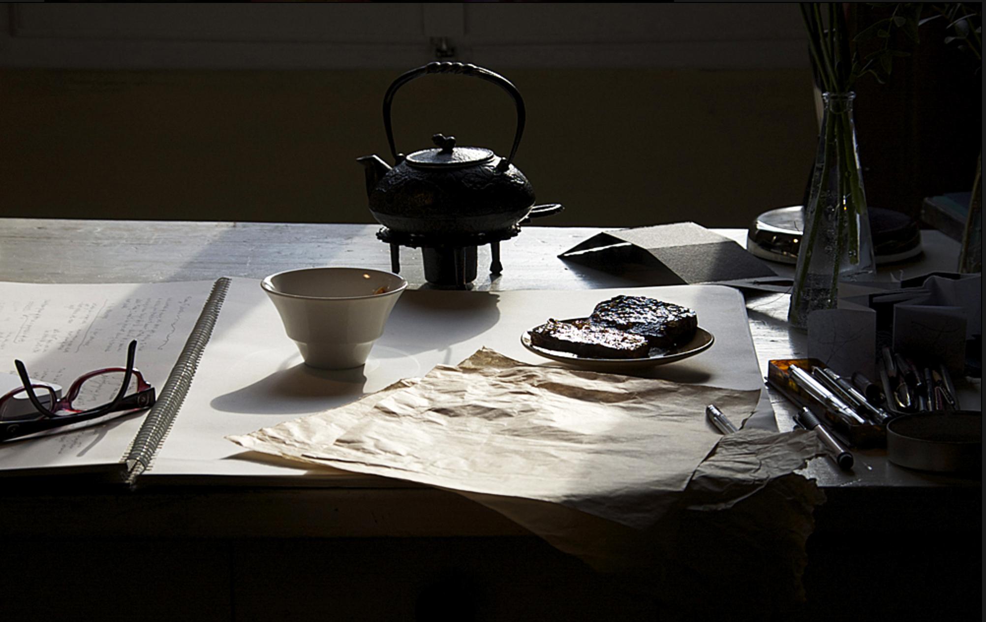studio milledisegni - studio desk in the morning.jpg