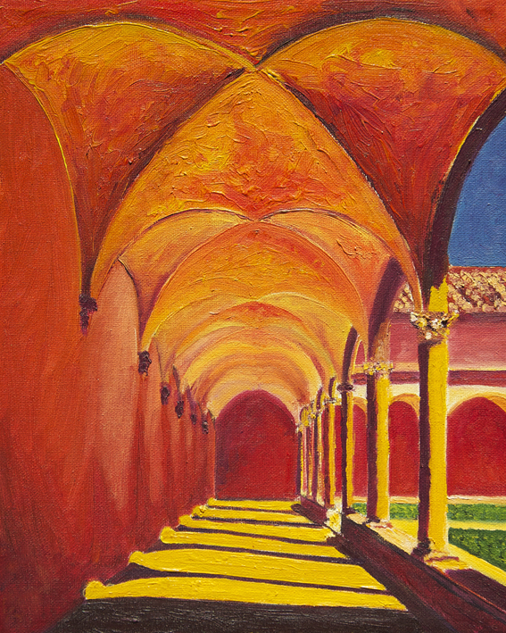 In the Cloister by Lisa McGarry.jpg