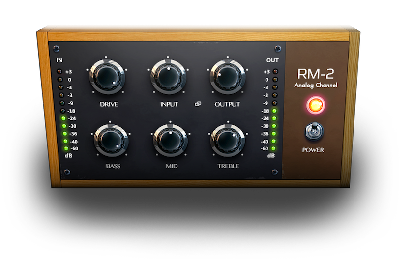Audio Assault RM-2 GUI.