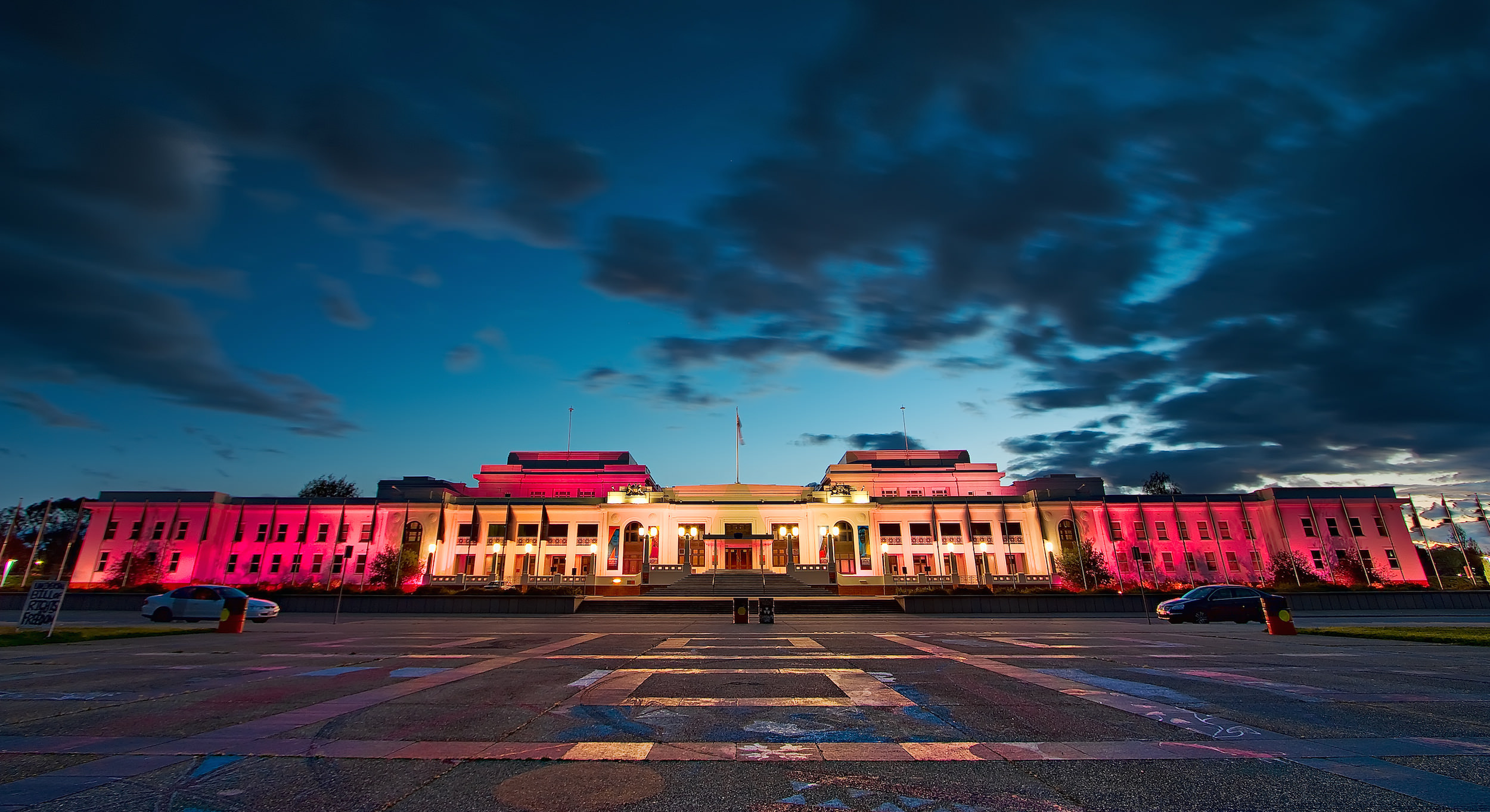 Old Parliament House in Canberra. Photo:  Sam Ilić .