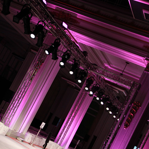 Fashion Show Production and Catwalk Hire at Cunard Building in Liverpool