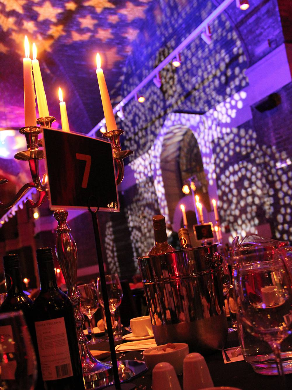 Event Lighting Hire Liverpool Metropolitan Cathedral