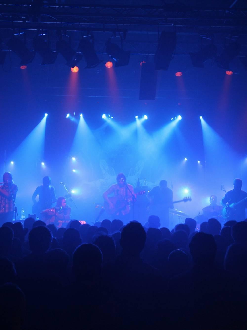 Event Lighting Hire for a Concert near Birmingham