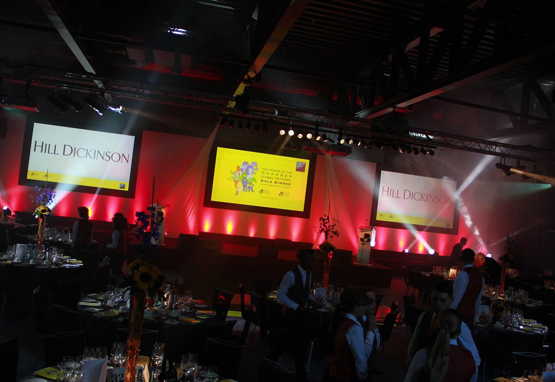 Awards Ceremony AV & Staging at Rum Warehouse