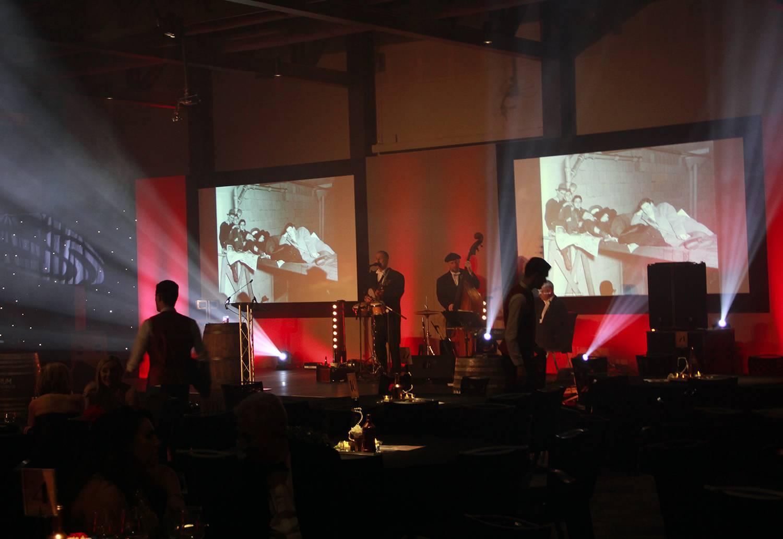 AV & Staging at Titanic Hotel for a Themed Charity Dinner