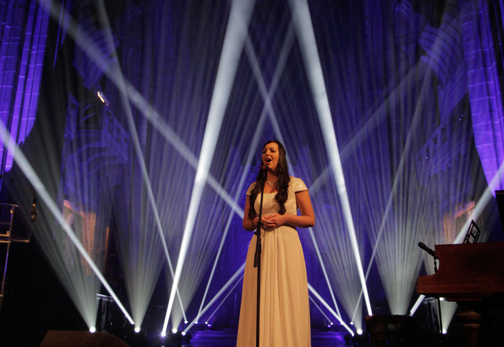 Gala Dinner Lighting & Production at Liverpool Cathedral
