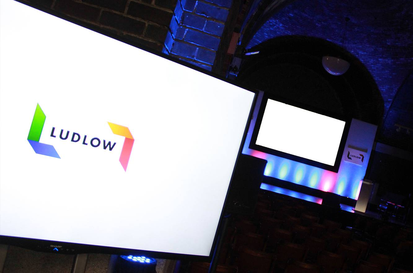Plasma Screen Hired for an event in Liverpool
