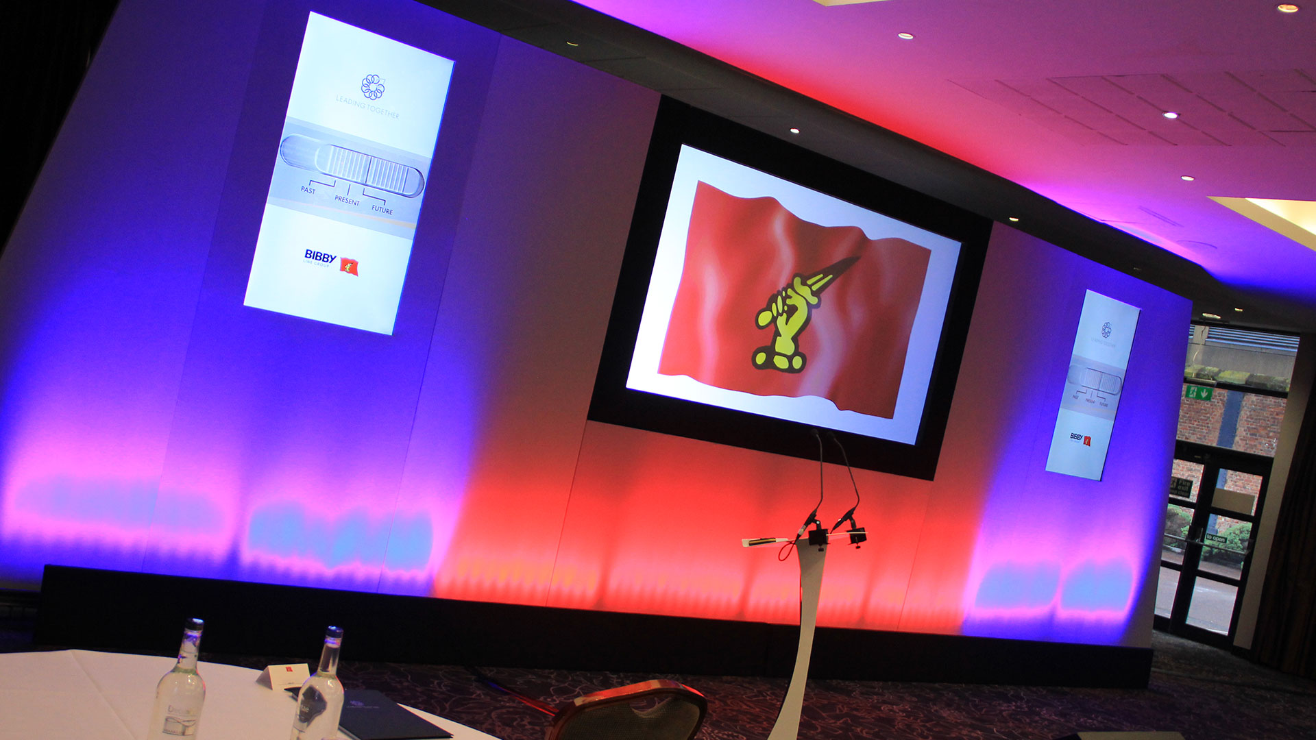 Conference AV Production at Crowne Plaza Liverpool