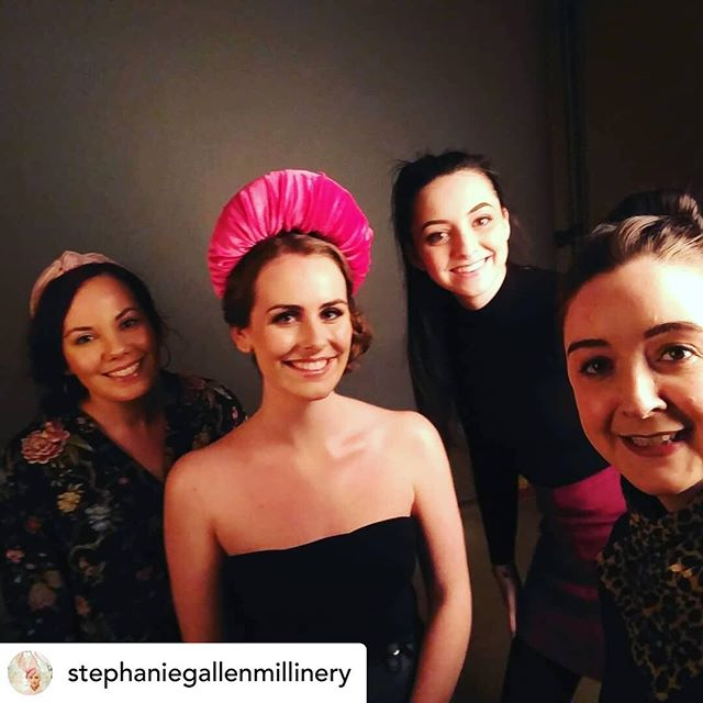 Shoot day done! Me, Grainne, Katy and Stephanie! #dreamteam @jennaclaytonmakeupartist @_grainne @kathrynellenphotography @stephaniegallenmillinery @superiormodelmanagement thanks for everything today folks 😘 #millinery #millinerycouture #ss19 #glasgowmilliner #madeinscotland #bespokemillinery #motherofthebride #motherofthegroom #weddinguest #glasgowmua #glasgowmakeupartist #scottishmakeupartist #scottishmua #bts #behindthescenes #model #makeupbyme #hairbyme #editorialmakeup #commercialmakeup