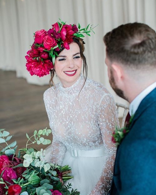 My bride Jo looking like a goddess out of Vogue Italia!! What a wedding.  Hair piece by @robinseggstyling  Hair by @pinuphairglasgow  Makeup by me  #bride #weddingday #weddinginspiration #weddingmakeup #weddinghair #bridalmakeupartist #bridalmakeup #scottishmua #scottishmakeupartist #scottishwedding #weddingideas #weddingdaymakeup #glasgowmua #glasgowmakeupartist #scottishweddingsupplier #dolceandgabbana #featuremeoncewed #wefellinlove #likeback #likeforlike #bridetobe #editorialbridal #highfashionbride #weddingphotography #weddingflowers #weddinginspo #makeupinspo