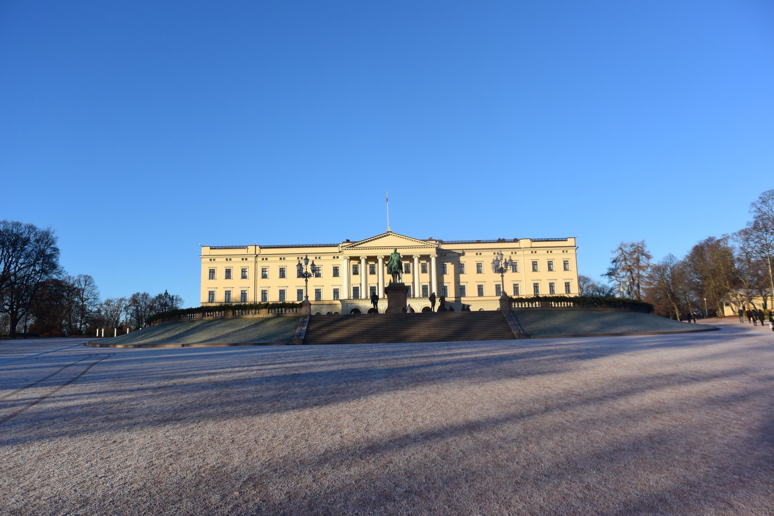 Palacio Real de Oslo. / LUKE JACKSON