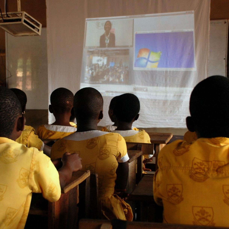 making ghanian girls great, pioneering distance education in rural ghana