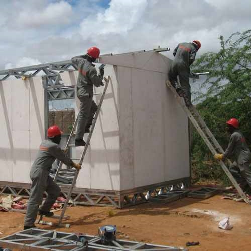 safaricom foundation - 1 solar container classroom in every county in kenya