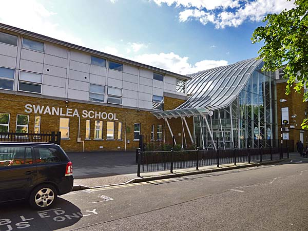 Swanlea School at Tower Hamlets UK
