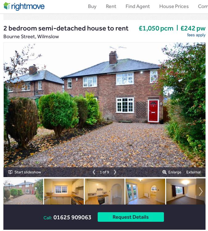 Property Genius listing