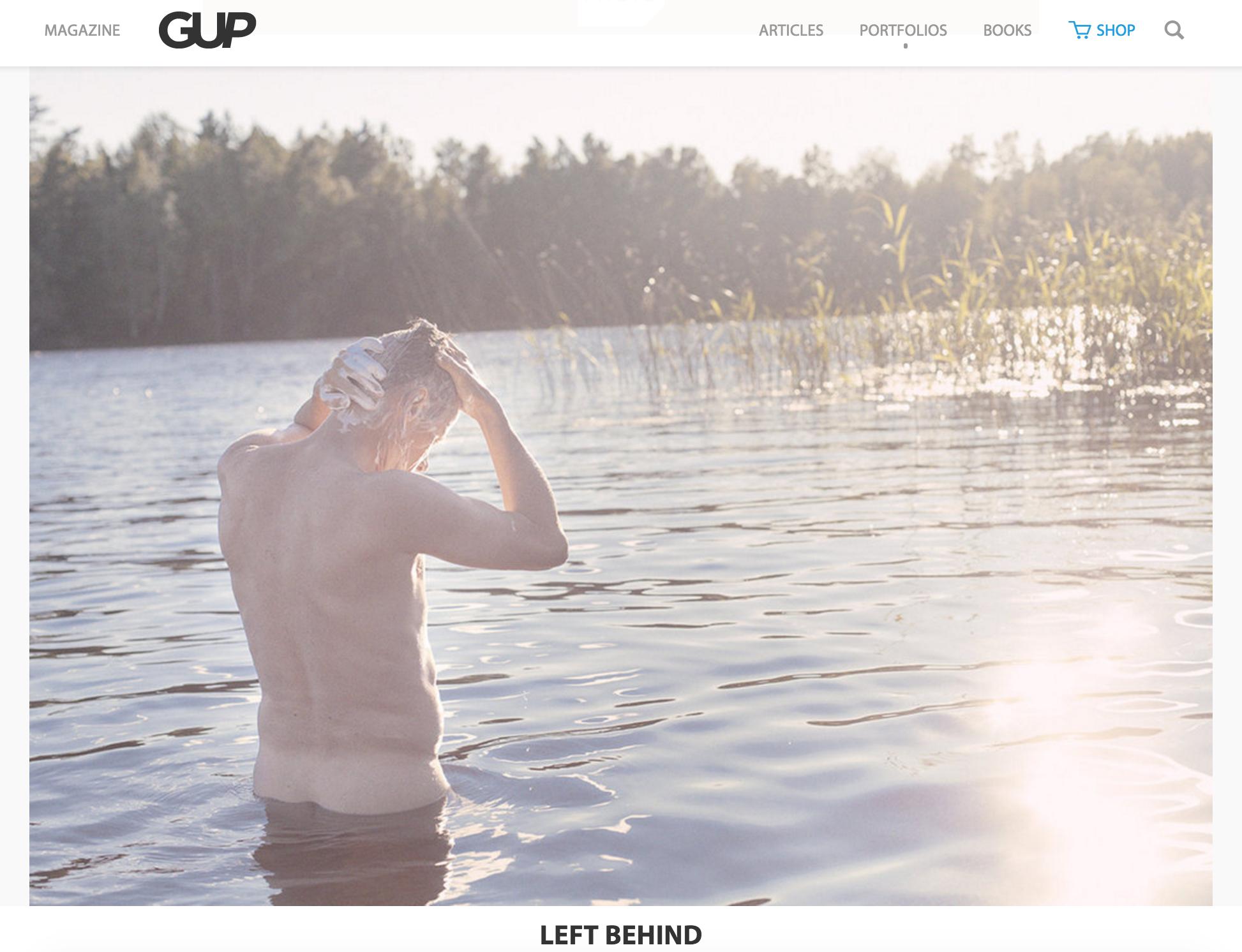 GUP MAGAZINE - Feautured work in GUP Magazine.