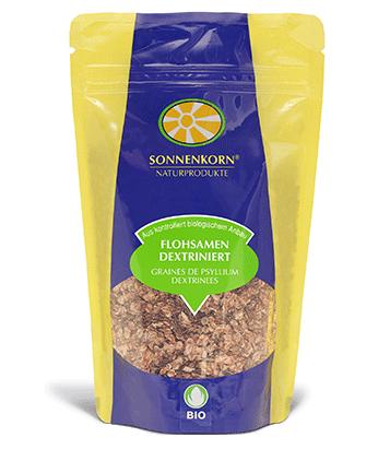 Produit populaire: Sonnenkorn graines de psyllium LE BOURGEON BIO dextrinisées, 120 g et 250 g