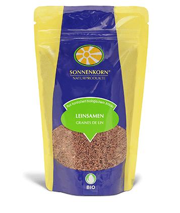 Sonnenkorn graines de lin LE BOURGEON BIO, 250 g et 500 g