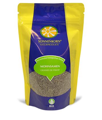 Sonnenkorn graines de pavot LE BOURGEON BIO, 150 g