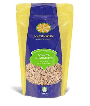 Sonnenkorn graines de tournesol LE BOURGEON BIO, 200 g et 400 g