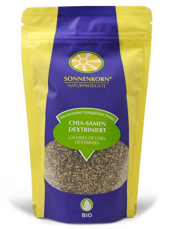 Chia-Samen dextriniert BIO Knospe Sonnenkorn, 120 g