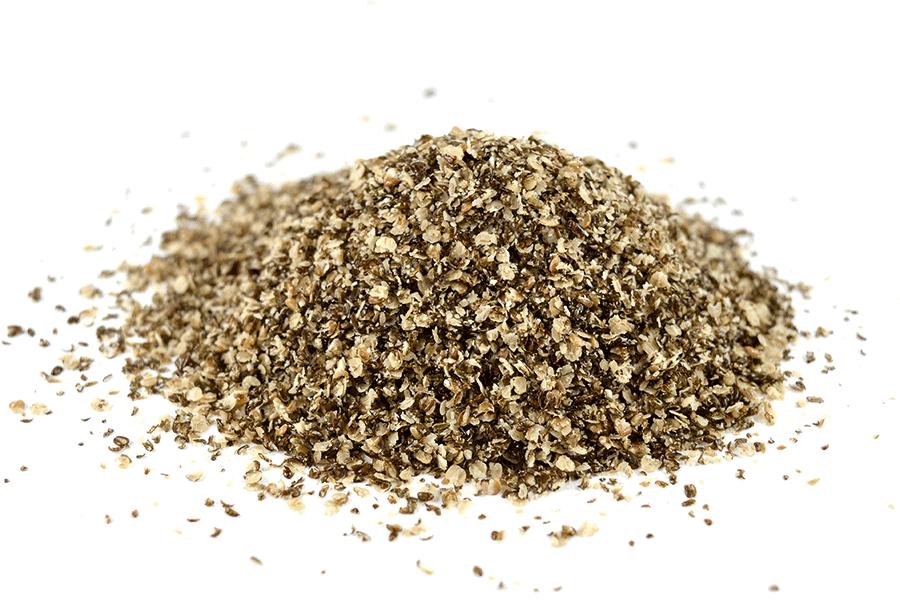 Chia-Samen nach der Dextrinierung