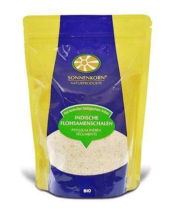 Nouveau: Sonnenkorn Psyllium indien - Téguments Bio (pur à 99%)
