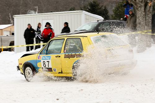 Image via Flickriver.com. Driver Christian Faloppa, co-driver Pramoda Ravi.