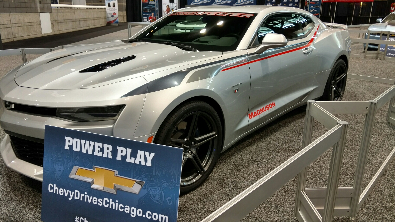 The first supercharged new chassis camaro.