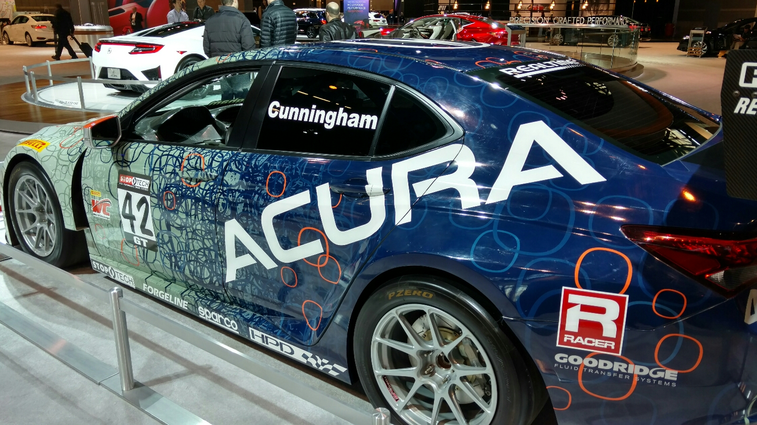 I love Acura more because of how the support this team, and have for decades.