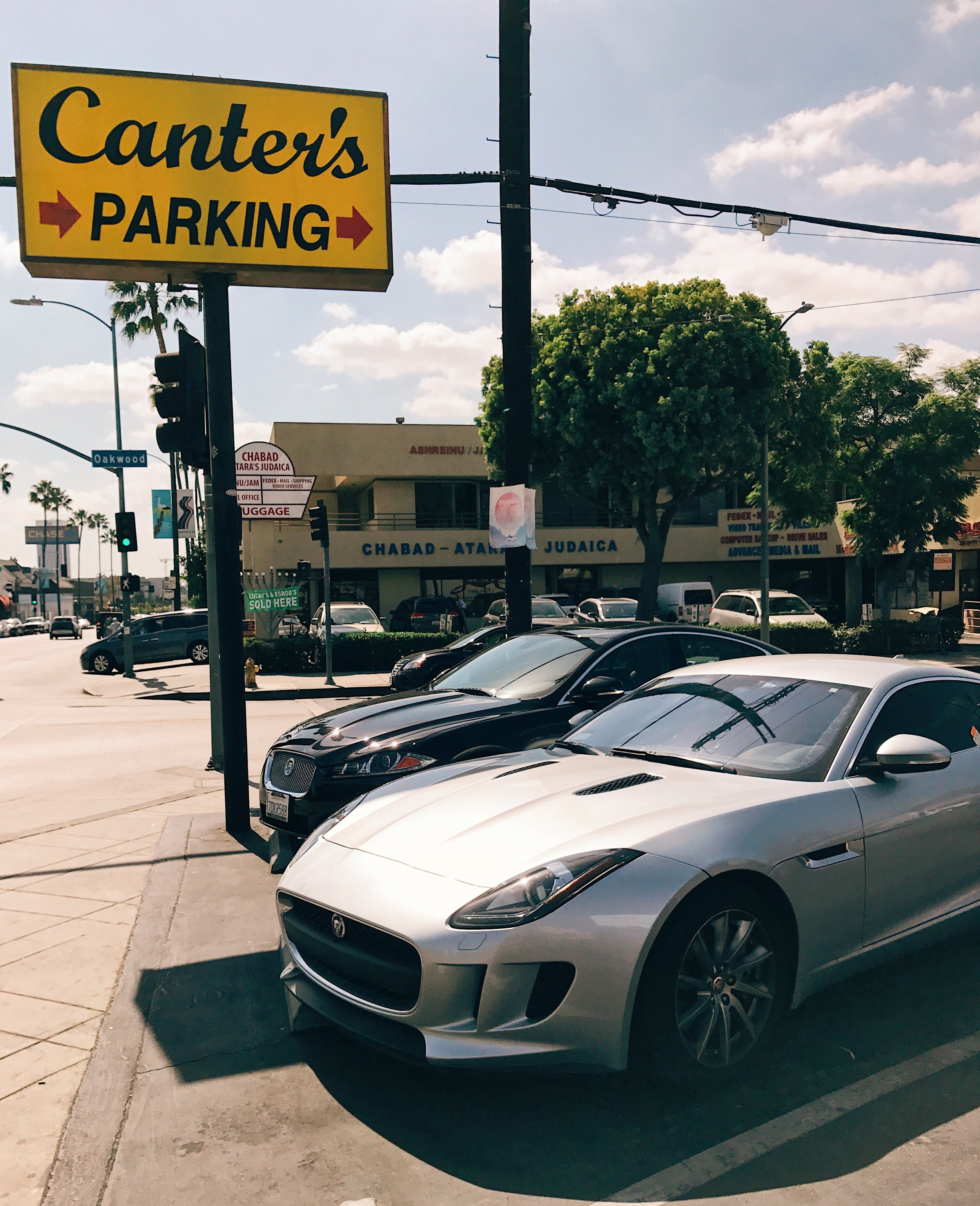 Blending in flawlessly on Fairfax, and look what parked next to me!