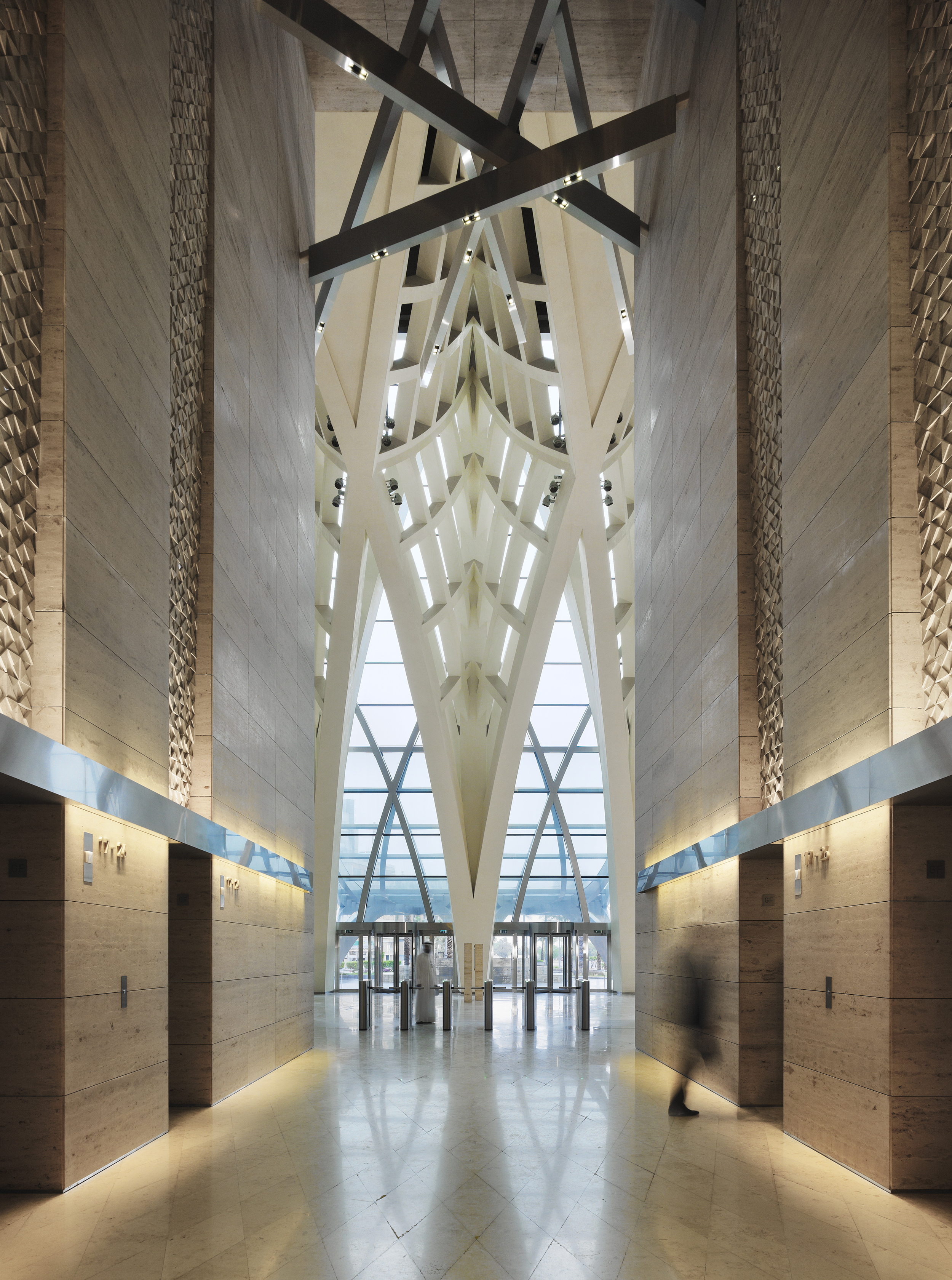 Al Hamra Tower  SOM  Kuwait      Return to Projects