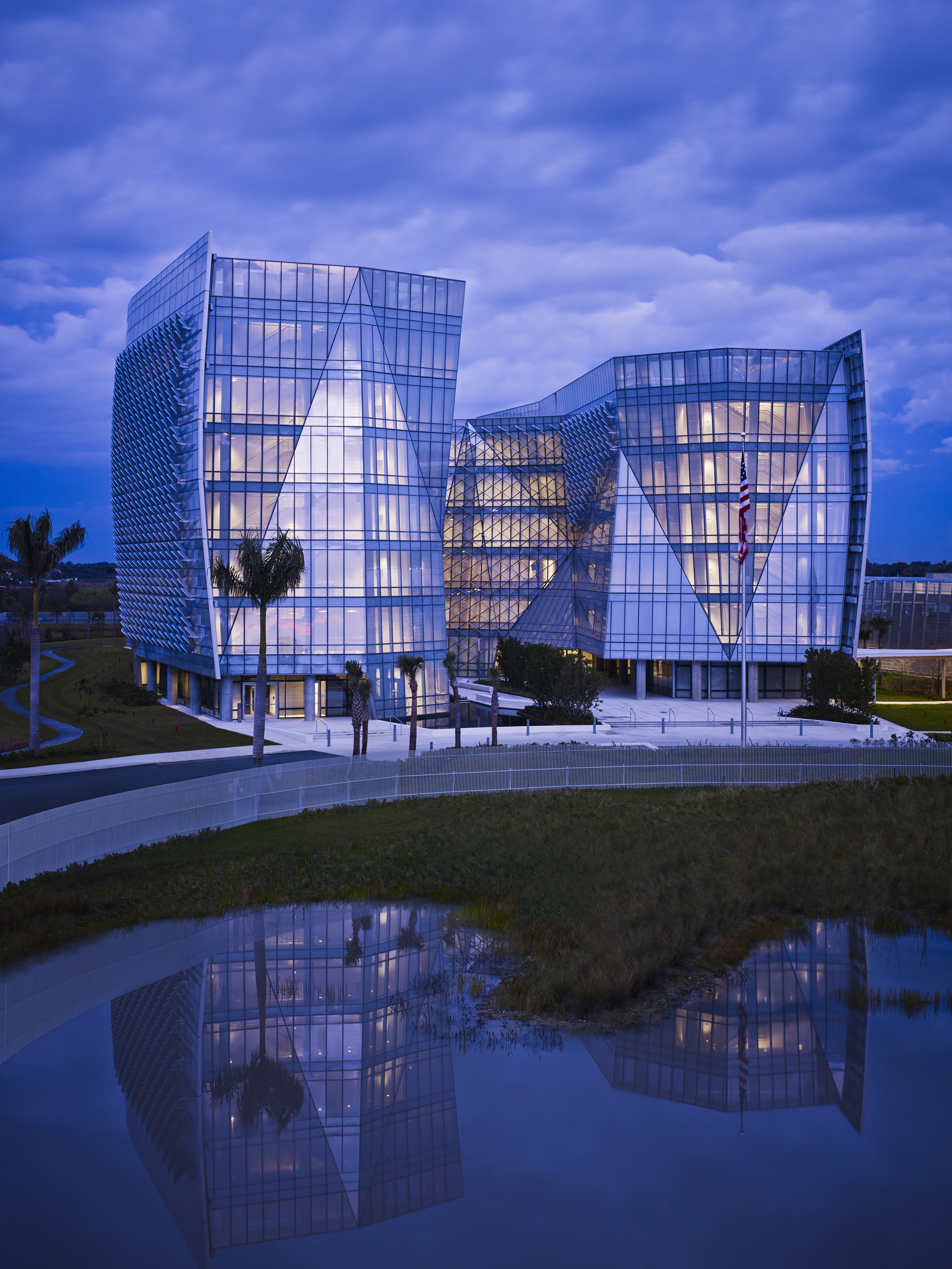 FBI Miami Field Building  Krueck + Sexton Architects  Miramar, FL      Return to Projects