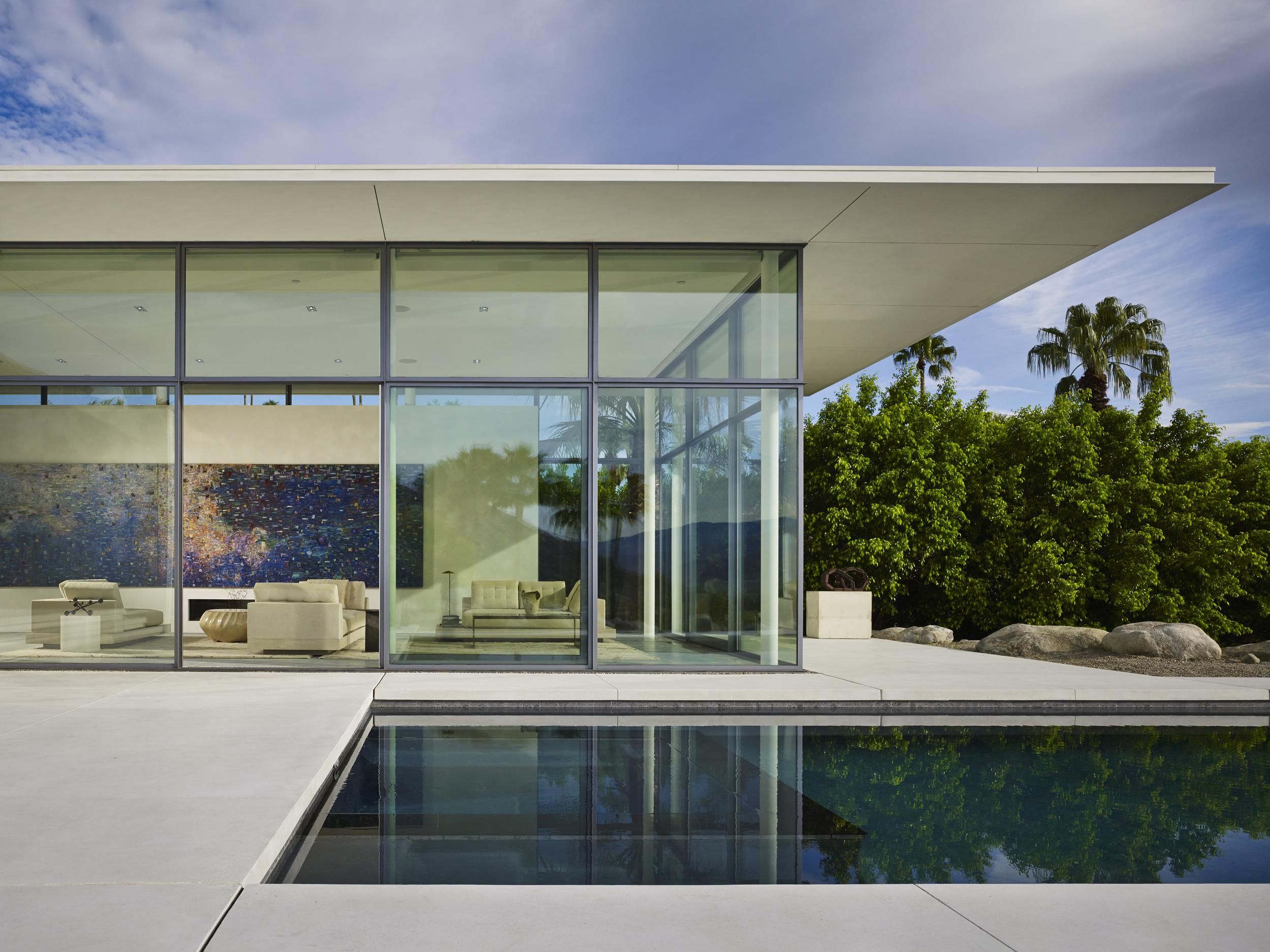 Panorama House  Booth Hansen Architects  Palm Springs, CA     Return to Projects
