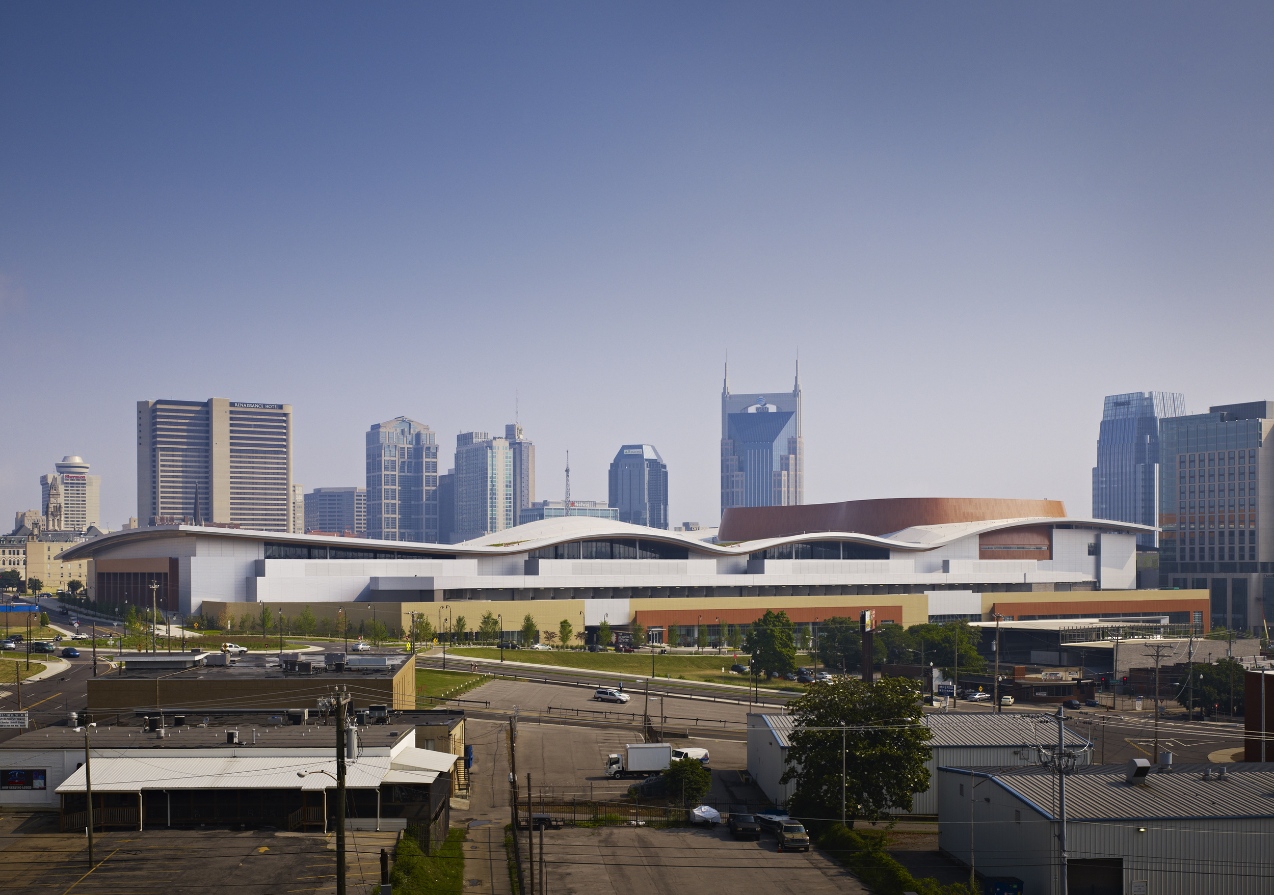Music City Center  TVS Design  Nashville, TN      Return to Projects