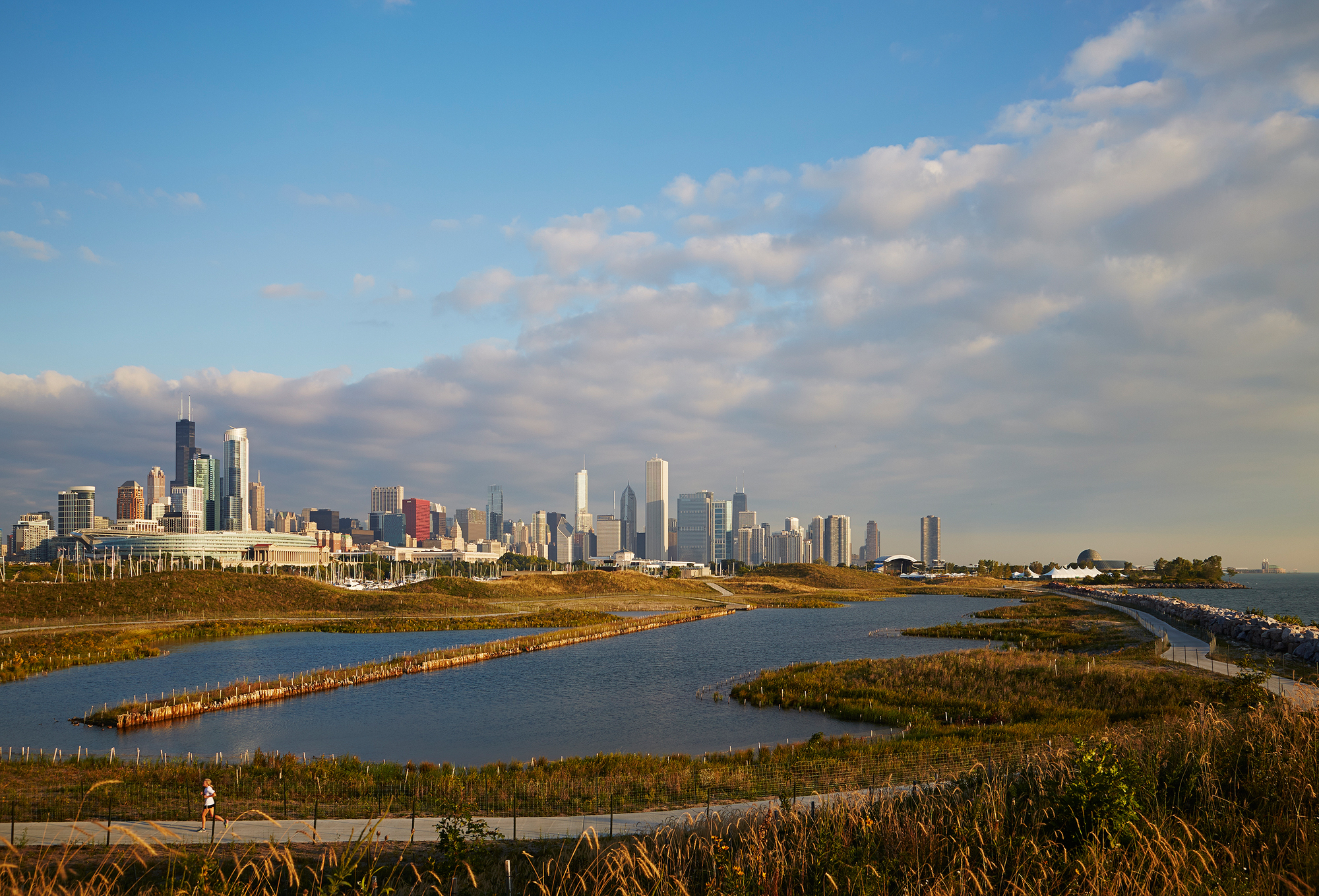 Northerly Island  Studio Gang + Smithgroup JJR  Chicago, IL      Return to Projects