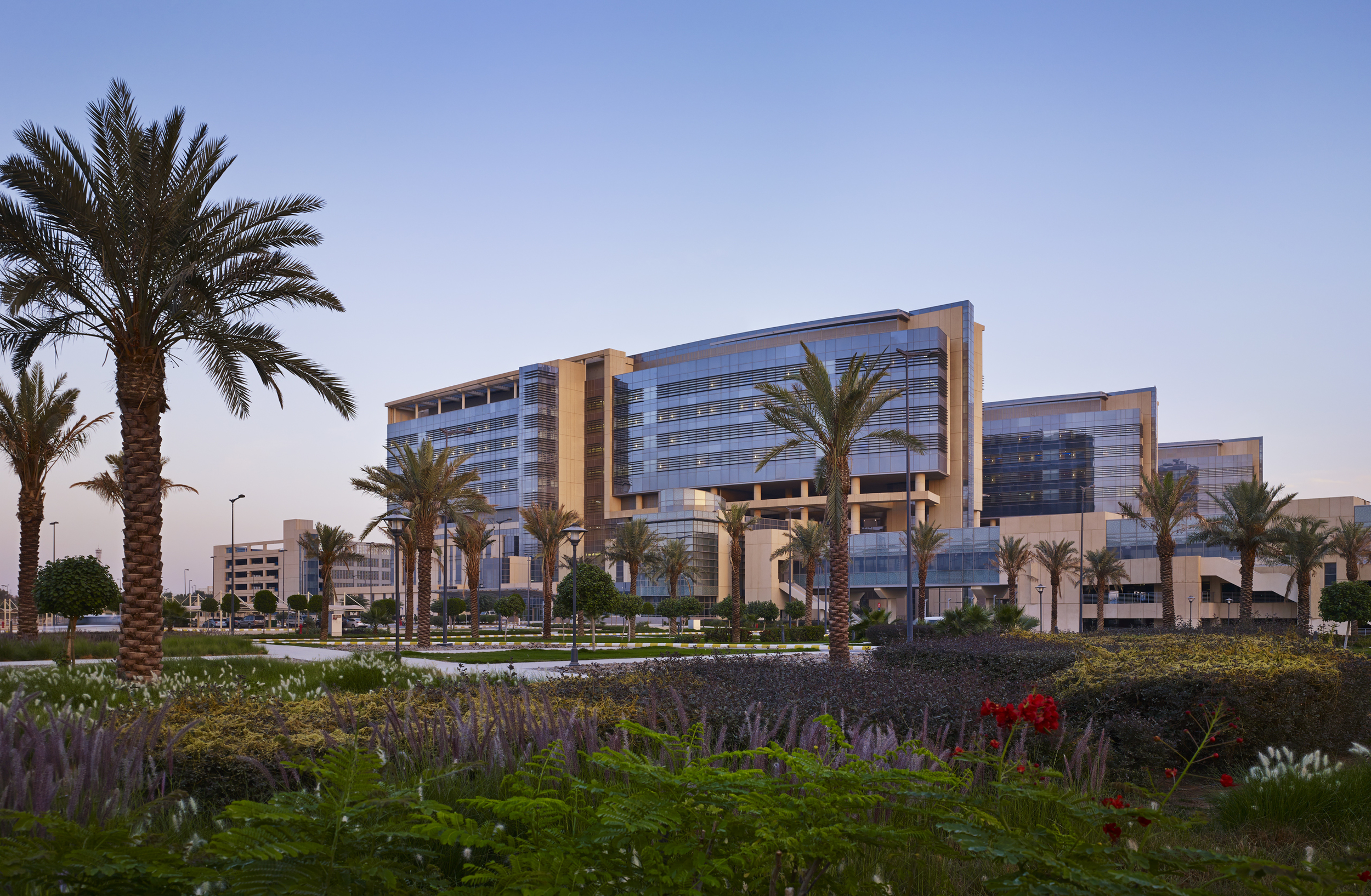 King Abdullah Specialist Children Hospital  Perkins+Will with Dar Al Handasah (Shair and Partners)  Riyadh,Saudi Arabia     Return to Projects