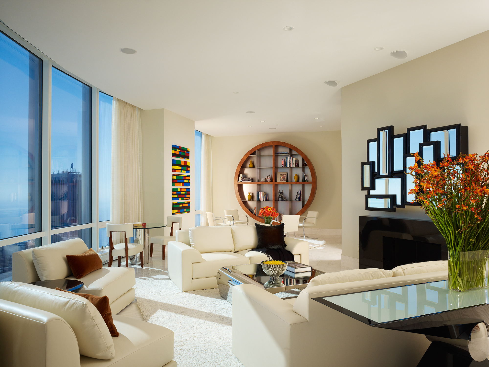 Trump Tower Residence  John Robert Wiltgen Design   Chicago, IL      Return to Projects