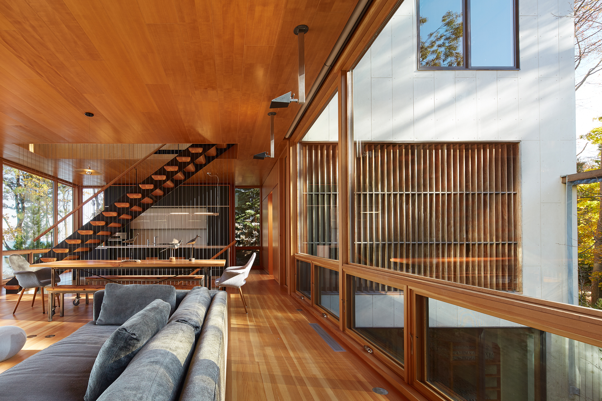Sun's End Retreat  Wheeler Kearns Architects  Michigan     Return to Projects
