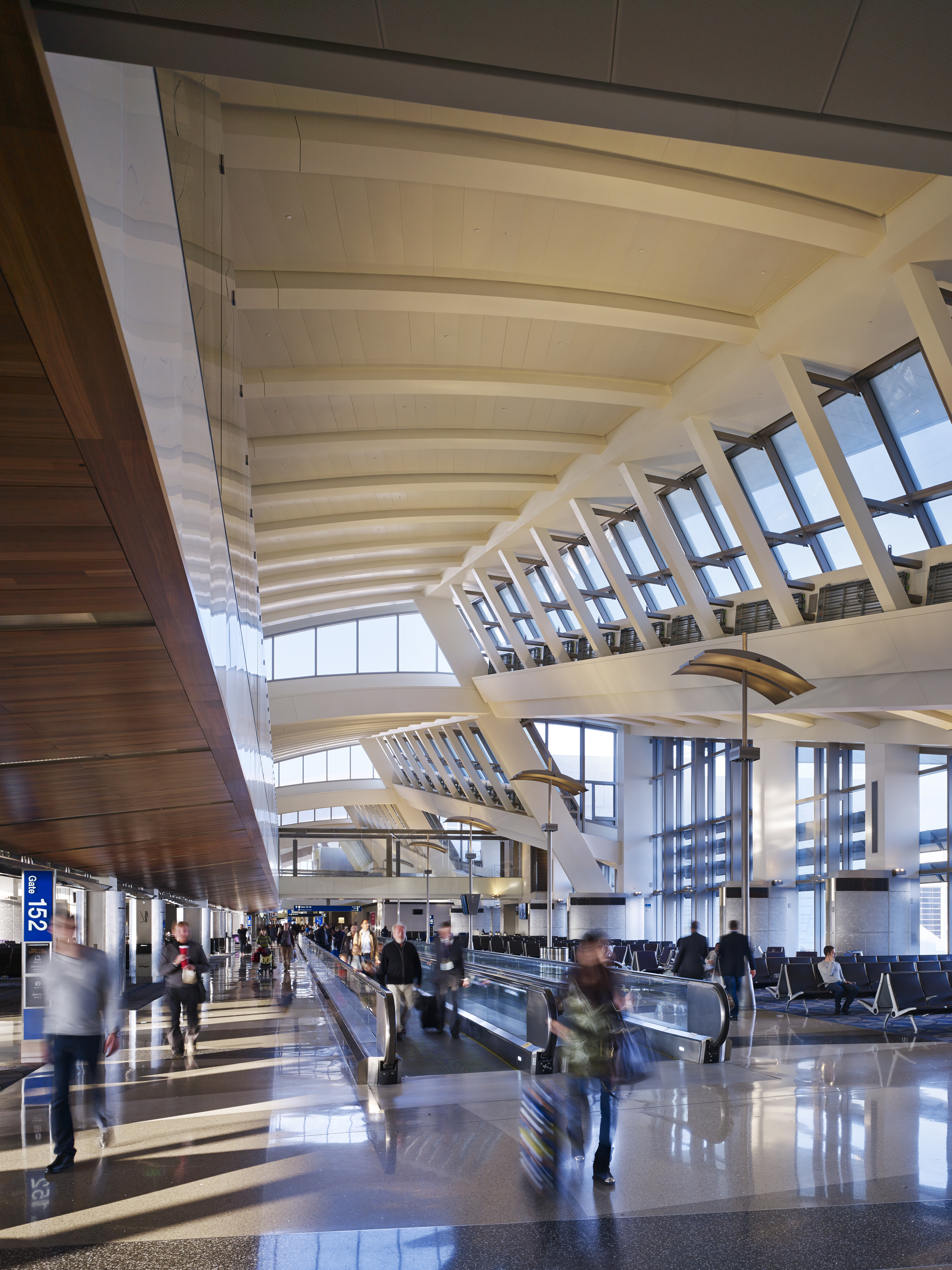 LAX International Terminal  Fentress Architects  Los Angeles, CA     View Full Project