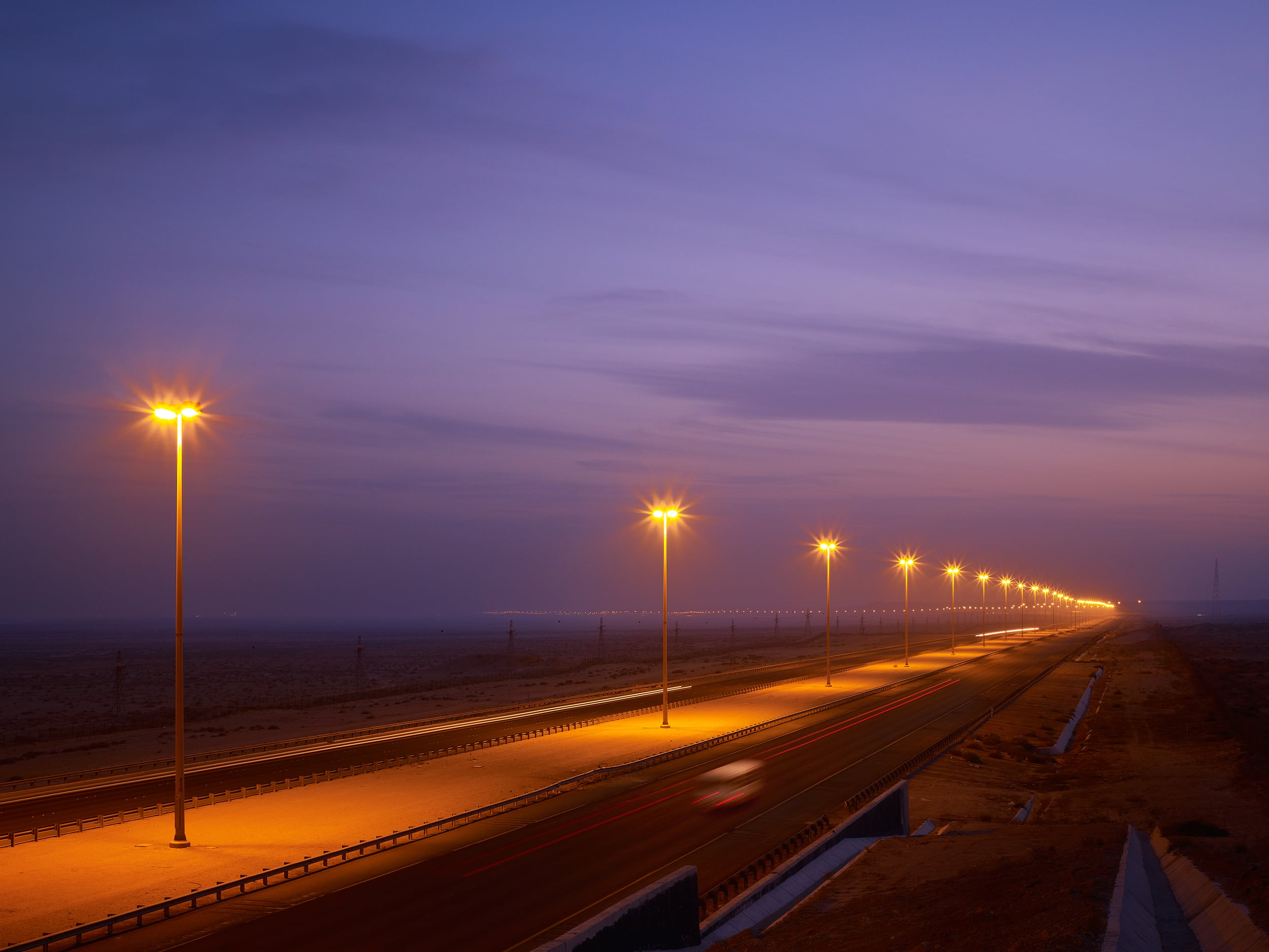 Desert Highway  PACE  Kuwait     View Full Project