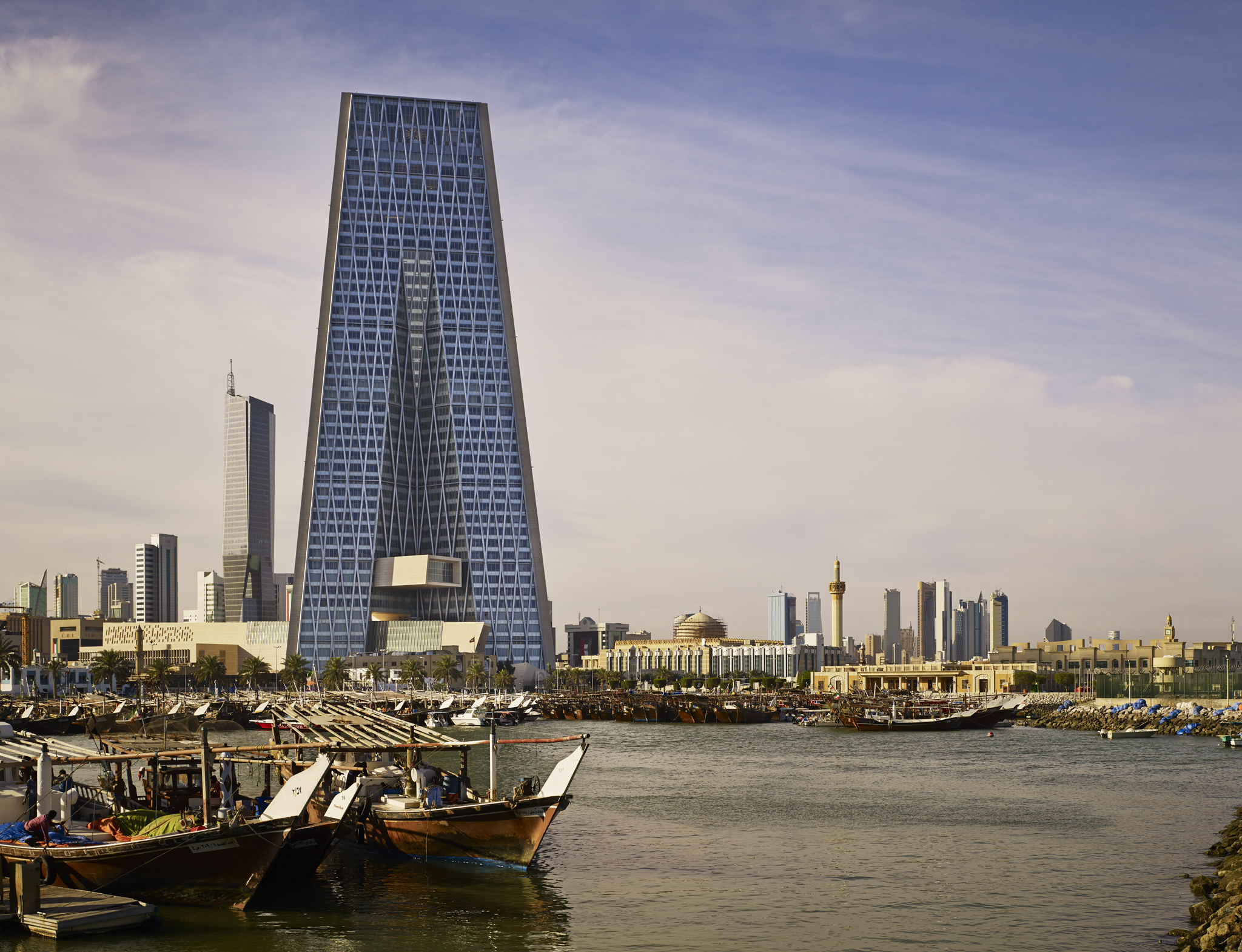 Central Bank of Kuwait  PACE + HOK  Kuwait City      Return to Projects