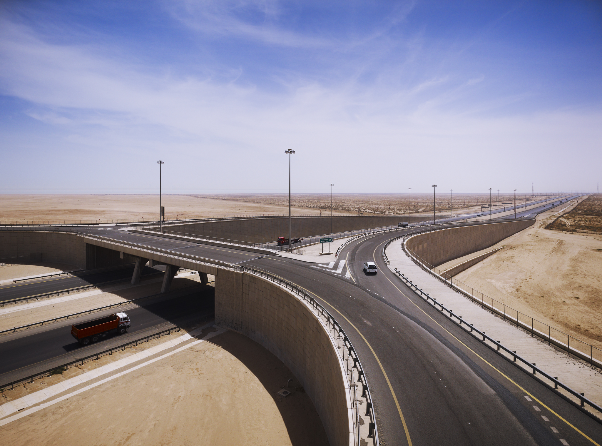 Desert Highway  PACE  Kuwait City      Return to Projects