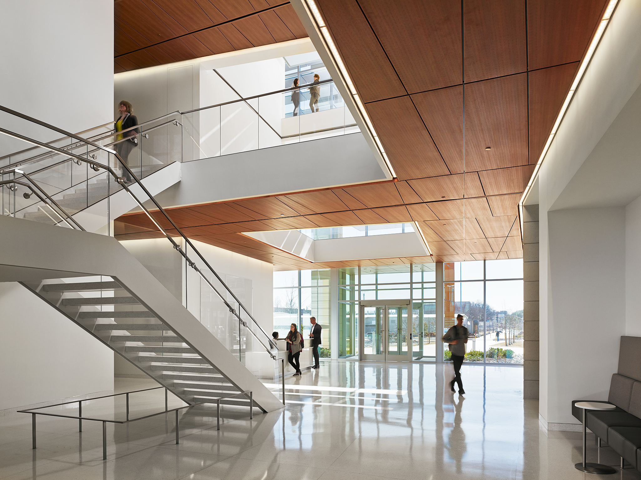BioEngineering Sciences Building  University of Texas  ZGF Architects  Dallas, Texas      Return to Projects